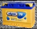 Аккумулятор АКОМ  6СТ - 75