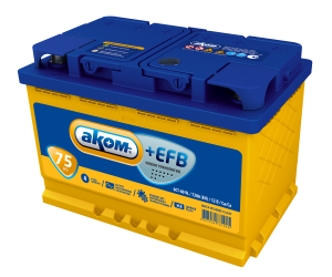 АКОМ  EFB 6СТ - 75