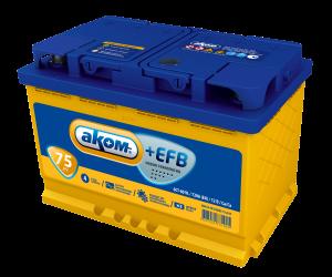 АКОМ  EFB 6СТ - 75 Евро